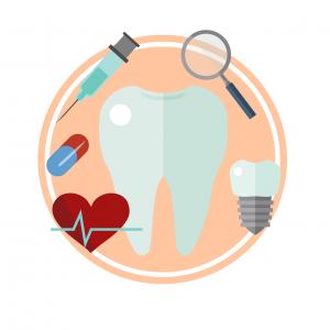 Si la aplicación de implantes dentales sin metal-PIXA